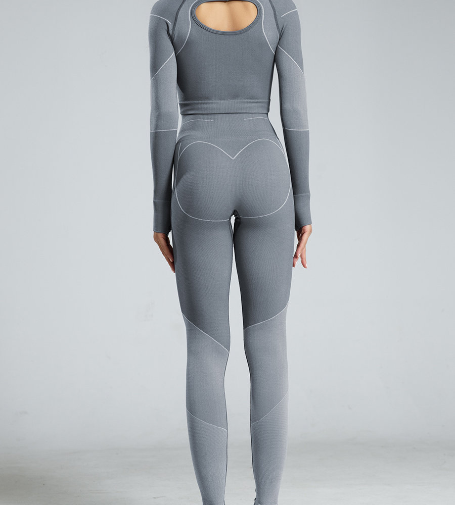 Seamless Knit Sweat Suit